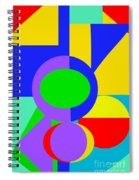 Color And Shape Series #1 Spiral Notebook