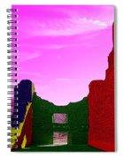 Color At Quarai  Spiral Notebook