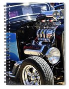 Color Chrome 1932 Black Ford Coupe Spiral Notebook