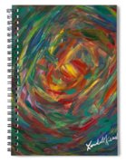 Color Circle Spiral Notebook