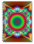Color Cross Spiral Notebook