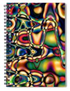 Color Cycles Spiral Notebook