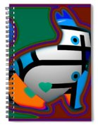 Color Field Spiral Notebook
