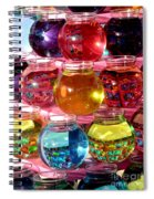 Color Fish Bowls Spiral Notebook