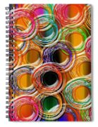 Color Frenzy 6 Spiral Notebook