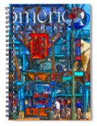 Color In Comerica Spiral Notebook