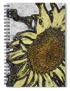 Color Me Sunflower Spiral Notebook