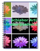 Color Of Lilies Spiral Notebook