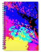 Color Of Rain Abstract Spiral Notebook