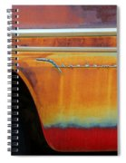 Color Of Rust Spiral Notebook