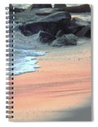 Color Of Sand Cape May Nj Spiral Notebook