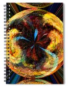 Color Power Collage Spiral Notebook