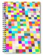 Color Quilt Spiral Notebook