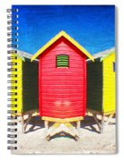 Color Reflected Spiral Notebook