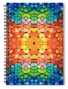 Color Revival - Abstract Art By Sharon Cummings Spiral Notebook