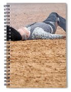 Color Rodeo Gunslinger Victim Spiral Notebook