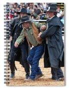 Color Rodeo Shootout Deputies Arrest Outlaw Spiral Notebook