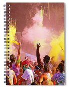 Color Run Spiral Notebook