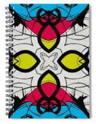 Color Symmetry 3 Spiral Notebook