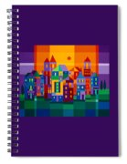 Color Town Spiral Notebook