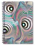 Color Waves Spiral Notebook