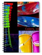 Color Your Life 1 Spiral Notebook