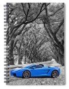 Color Your World - Lamborghini Gallardo Spiral Notebook