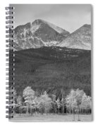 Colorado America's Playground In Black And White Spiral Notebook
