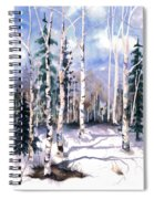 Colorado Aspens 2  Spiral Notebook