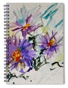 Colorado Asters Spiral Notebook