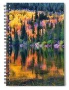 Colorado Autumn Spiral Notebook