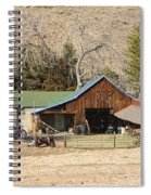 Colorado Barn Spiral Notebook