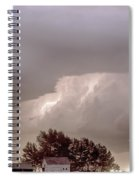 Colorado Farm Country Storm Spiral Notebook