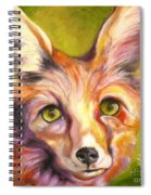 Colorado Fox Spiral Notebook
