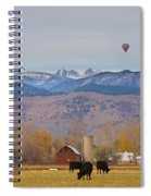 Colorado Hot Air Ballooning Spiral Notebook