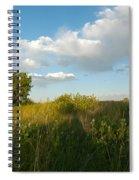 Colorado June Evening Landscape Spiral Notebook