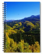 Colorado Landscape Spiral Notebook
