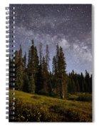 Colorado Milky Way Spiral Notebook