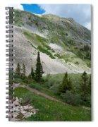 Colorado Mountain Landscape Spiral Notebook