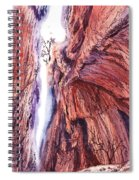 Colorado Mountains Garden Of The Gods Canyon Spiral Notebook