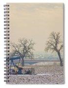 Colorado Pumpjack Spiral Notebook