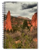 Colorado Red Rock Landcape Spiral Notebook