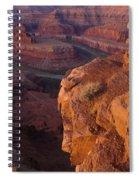 Colorado River At Dawn Spiral Notebook