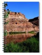 Colorado River At Moab Spiral Notebook
