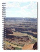 Colorado River From Dead Horse Point  Spiral Notebook