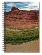 Colorado River Gooseneck Spiral Notebook
