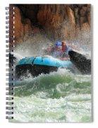 Colorado River Rafters Spiral Notebook