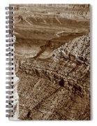 Colorado River View - Grand Canyon - Arizona Spiral Notebook
