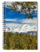 Colorado Rocky Mountain View Spiral Notebook