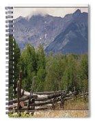 Colorado Wilson Peak Clouds Spiral Notebook